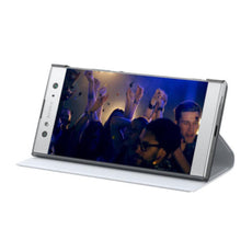 Sony Xperia XZ3 SCSH70 Style Cover Stand - White/Silver