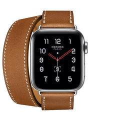 Apple Watch Series 5  - Stainless Steel - Hermes Double Tour