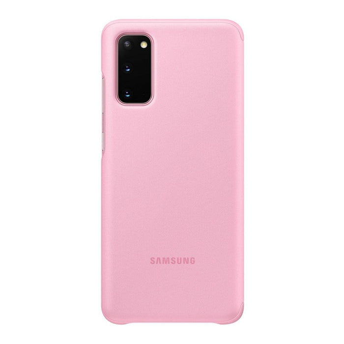 Samsung Galaxy S20 Clear View Cover - Pink