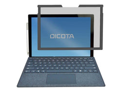 "DICOTA Secret - Notebook privacy filter - 2-way - magnetic - 12.3"" - black - for Microsoft Surface Pro 4"