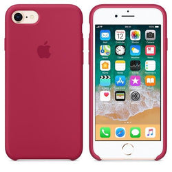 Apple iPhone 8 Silicone Case - Rose Red