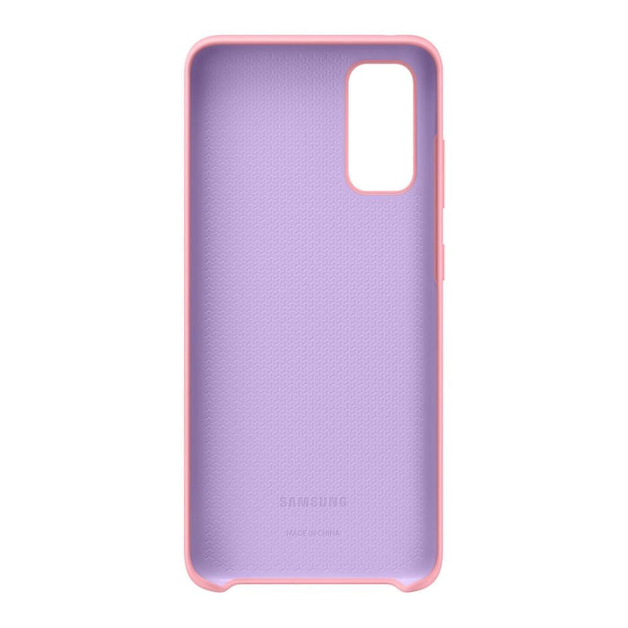 Samsung Galaxy S20 Silicone Cover - Pink