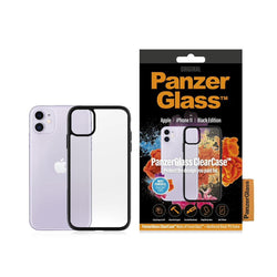 PanzerGlass iPhone 11 ClearCase with BlackFrame