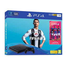 PS4 1TB Black FIFA 19 Bundle