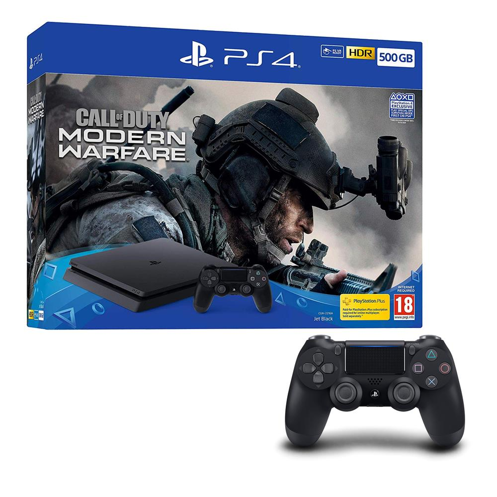 Call of Duty: Modern Warfare PS4 500GB Bundle - Extra PS4 DualShock Controller