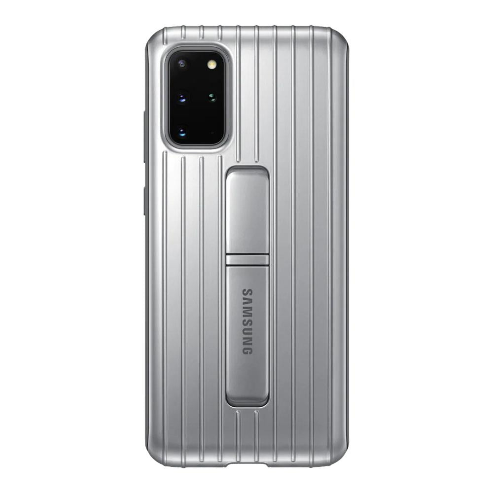 Samsung Galaxy S20 Plus Protective Standing Cover - Silver