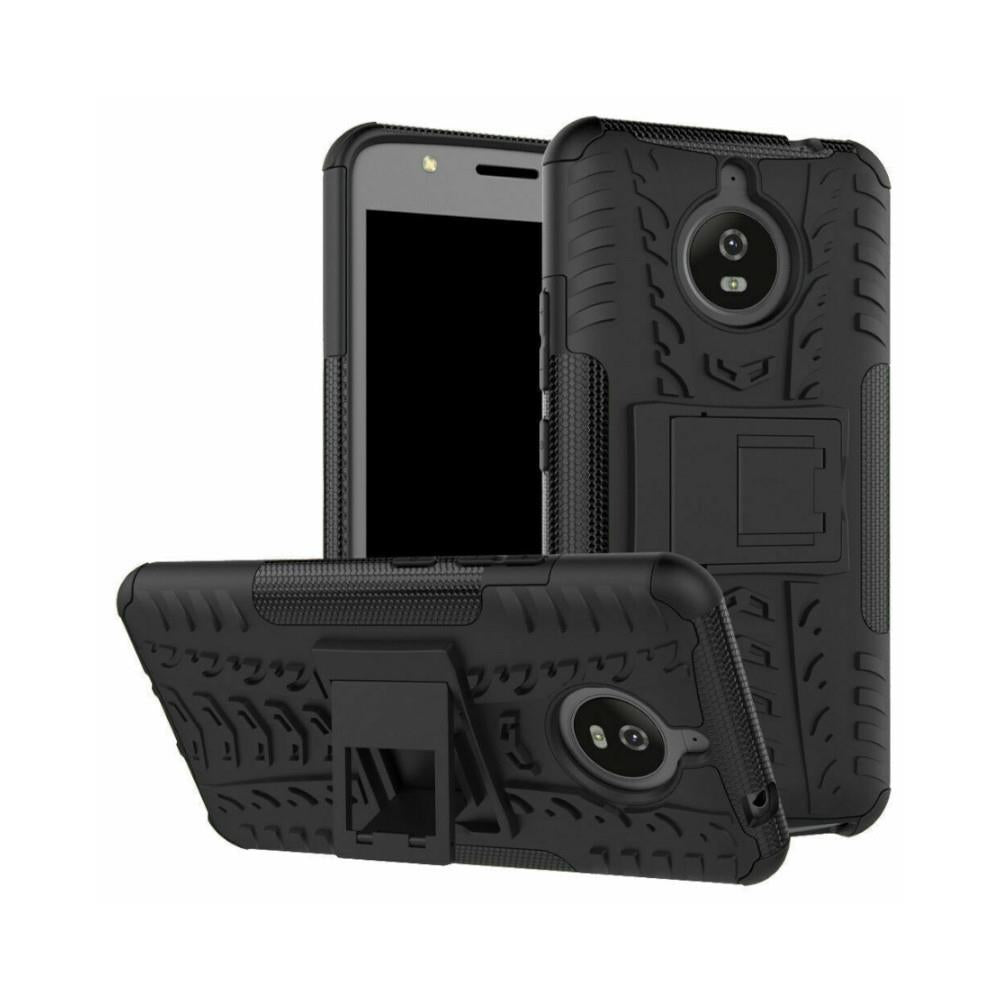 MOTG8+MI Shockproof Case with Kickstand - for Moto G8 Plus