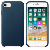 Apple iPhone 7 Leather Case - Cosmos Blue