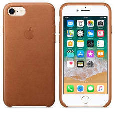 Apple iPhone 7 Leather Case - Saddle Brown