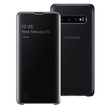 Samsung Galaxy S10 Clear View Cover - Black