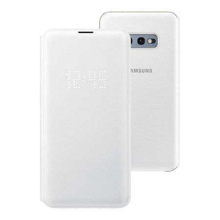 Samsung Galaxy S10e LED View Cover - White