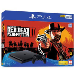 PS4 - 500GB - Red Dead Redemption 2 Bundle