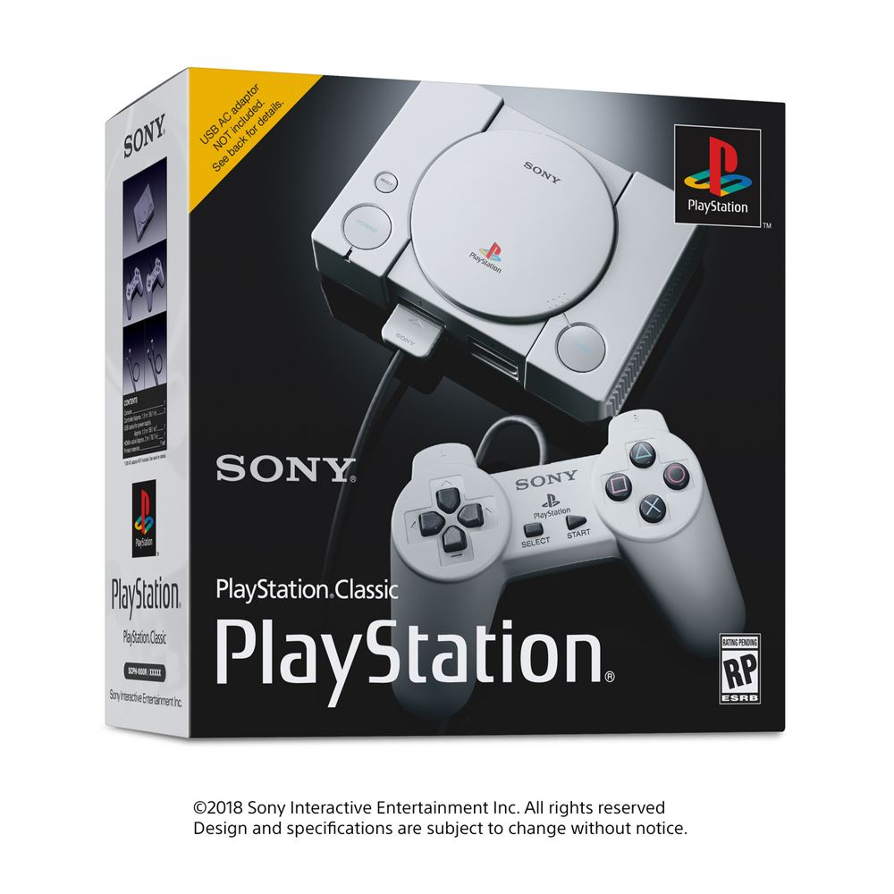Sony PlayStation Classic (20 Pre-Loaded Games)