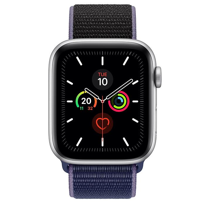 Apple Watch Series 5  - Silver Aluminium - Sport Loop
