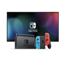 Nintendo Switch - Neon Red and Blue