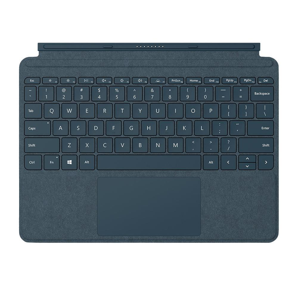Microsoft Surface Go Signature Type Cover - Cobalt Blue - UK Layout