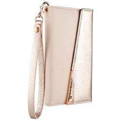 Case-Mate Leather Wristlet Folio Case - iPhone X - Rose Gold
