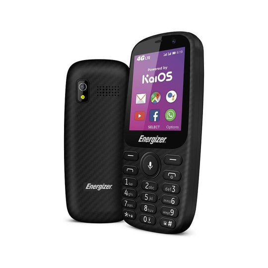 Energizer E241S - UK Model - Dual SIM / Black / 4GB + 512MB