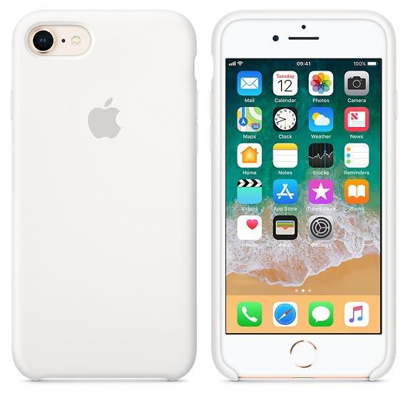 Apple iPhone 8 Silicone Case - White