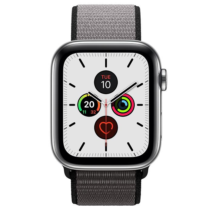 Apple Watch Series 5  - Stainless Steel - Sport Loop