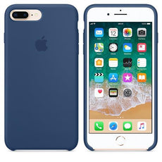 Apple iPhone 7 Plus Silicone Case - Blue Cobalt