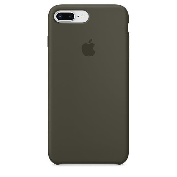 Apple iPhone 7 Plus Silicone Case - Dark Olive