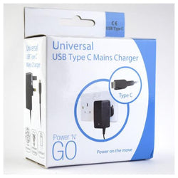 Pama 3A USB Type-C Mains Charger - UK