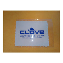 Clove Technology Microfiber Cleaning Cloth - White