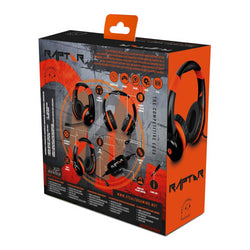 Multiformat Wired Stereo Gaming Headset - Raptor