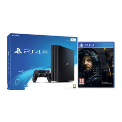 PS4 Pro - 1TB - Black - Death Stranding