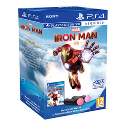 Marvels Iron Man VR - Move Bundle - PS4 - PS VR