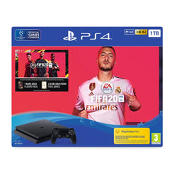 PS4 - 1TB - Black - FIFA 20 Bundle