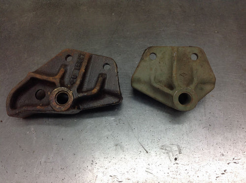 Halftrack Front Spring Frame Hanger Brackets with Bushings 2-Piece Set | RARE ITEM