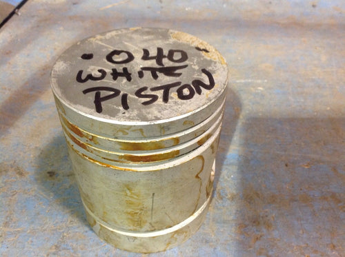 Half Track .040 NOS Pistons, Pins, Clips
