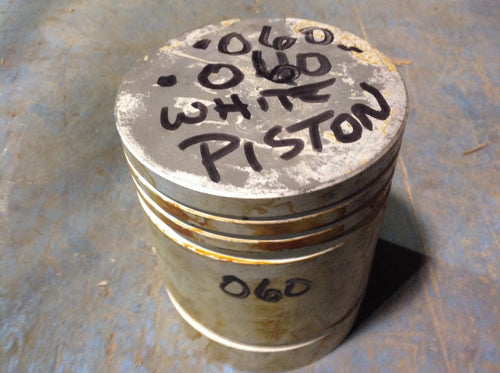Half Track .060 NOS Pistons, Pins, Clips