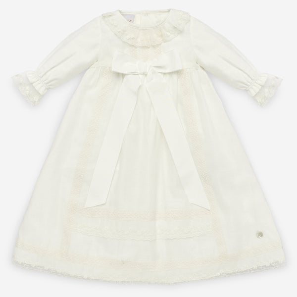 Baptism Dress and Bonnet