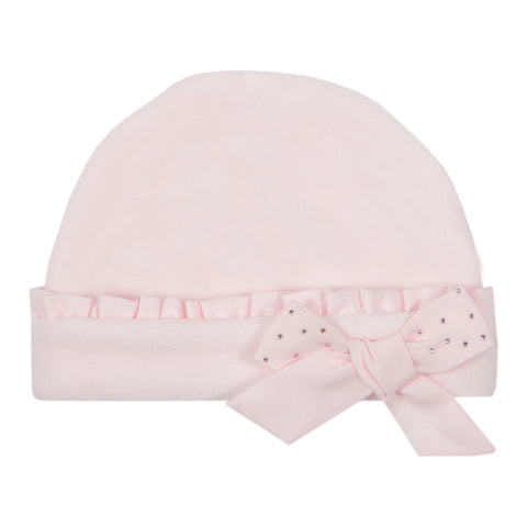Baby Girl Pink Knit Hat