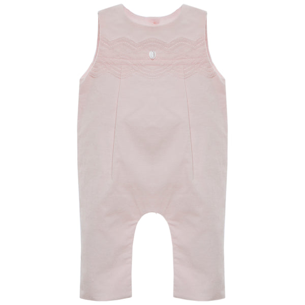 Pink Baby Dungaree Set