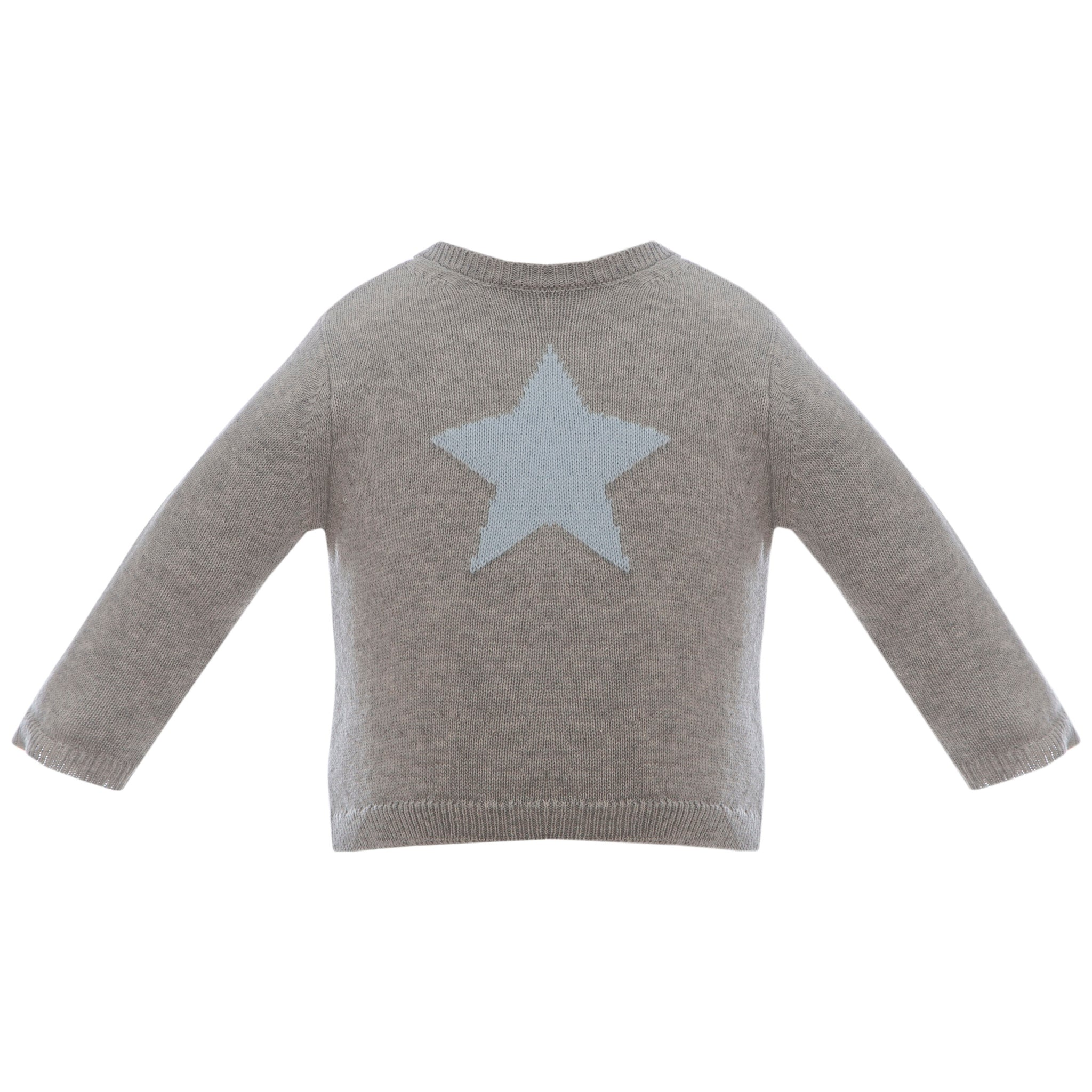 Boy's Cotton Star Sweater