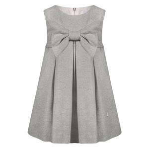 Girl's Grey PInafore
