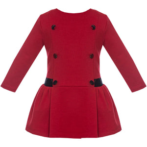 Holiday Drop Waist Knit Dress