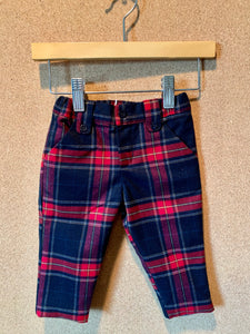 Boy's Tartan Plaid Pants