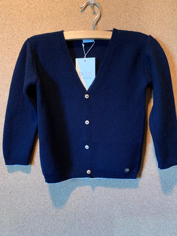 Boy's Navy Blue Cardigan