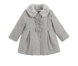 Girl's Grey Coat