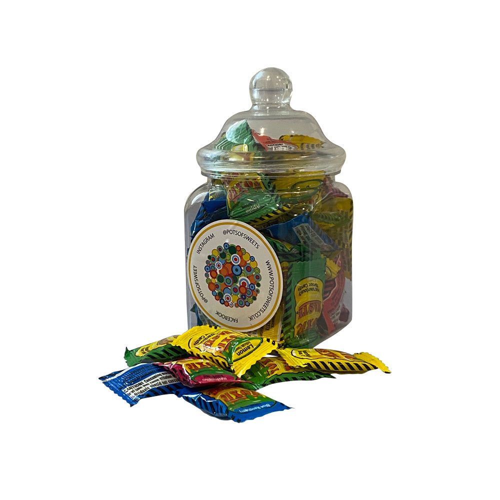 Jars of Toxic Waste Sour Sweets