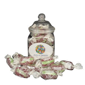 Wrapped Cherry Twist Hard Boiled Sweets
