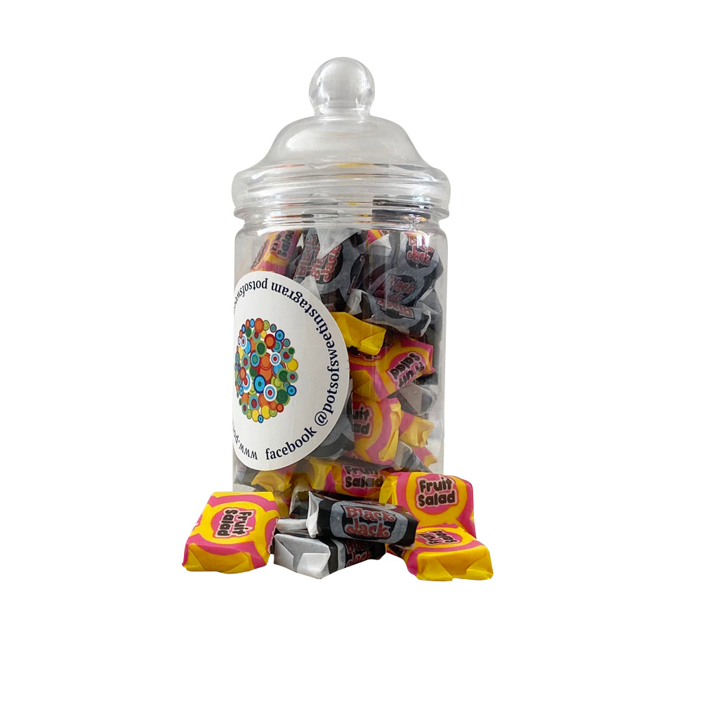 Load image into Gallery viewer, Barratt Fruit Salads and Black Jack Sweets