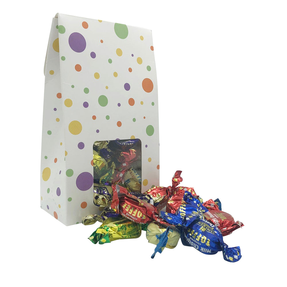 Load image into Gallery viewer, 200g Walkers Individually Wrapped Assorted Toffees Sweet Gift Box
