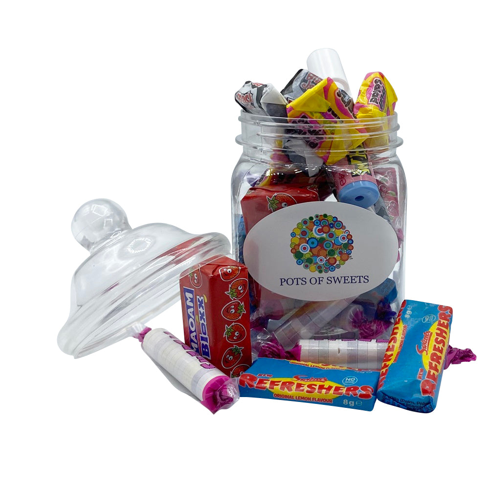 200 gram Jar Retro Sweet Collection
