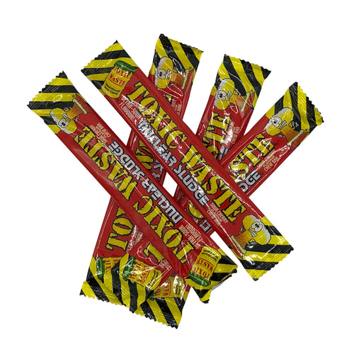 5 Bars Toxic Waste Cherry Flavour Chews